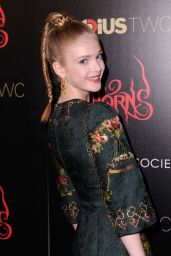 Elena Kampouris – 'Horns' Premiere in New York City