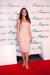 Elisabeth Hurley - MIPCOM Opening Party - Hotel Martinez in Cannes, October 2014