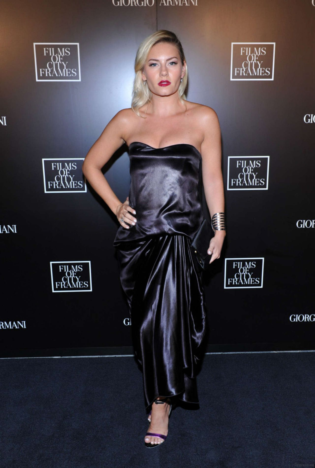 Elisha Cuthbert - Giorgio Armani Presents Films Of City Frames in Toronto