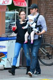Emily Blunt - Out in New York City - October 2014