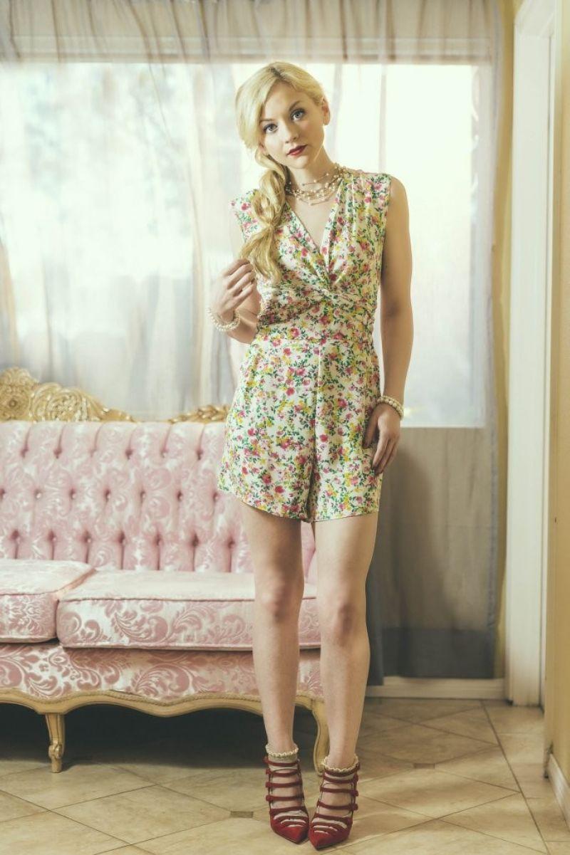 Emily Kinney Photoshoot The New Face Of Nikki Rich