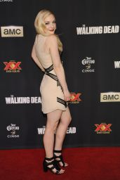 Emily Kinney – 'The Walking Dead' Season Five Premiere in Universal City