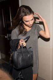 Emily Ratajkowski - at LAX Airport in Los Angeles, October 2014
