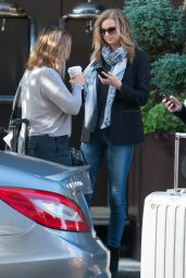 Emily VanCamp - Out in New york City, Sept. 2014
