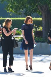 Emma Stone - Out in Los Angeles, October 2014