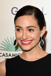 Emmy Rossum – Brian Bowen Smith Wildlife Show in West Hollywood – October 2014