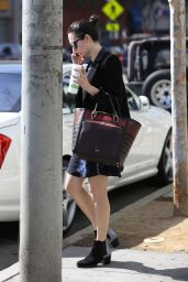 Emmy Rossum Casual Style - Out in Los Angeles, October 2014