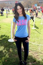 Emmy Rossum - LA Walk To Defeat ALS in Los Angeles - October 2014
