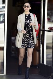 Emmy Rossum Street Style - Out in West Hollywood - October 2014