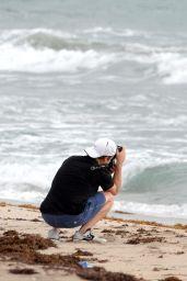 Erin Heatherton - Photoshoot in Miami Beach - October 2014
