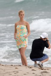 Erin Heatherton - Photoshoot in Miami Beach - October 2014