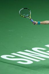 Eugenie Bouchard – 2014 WTA Finals in Singapore (vs Ana Ivanovic)