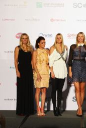 Eugenie Bouchard – Draw Ceremony for the BNP Paribas WTA Finals 2014