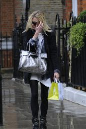 Fearne Cotton in the London Rain - October 2014