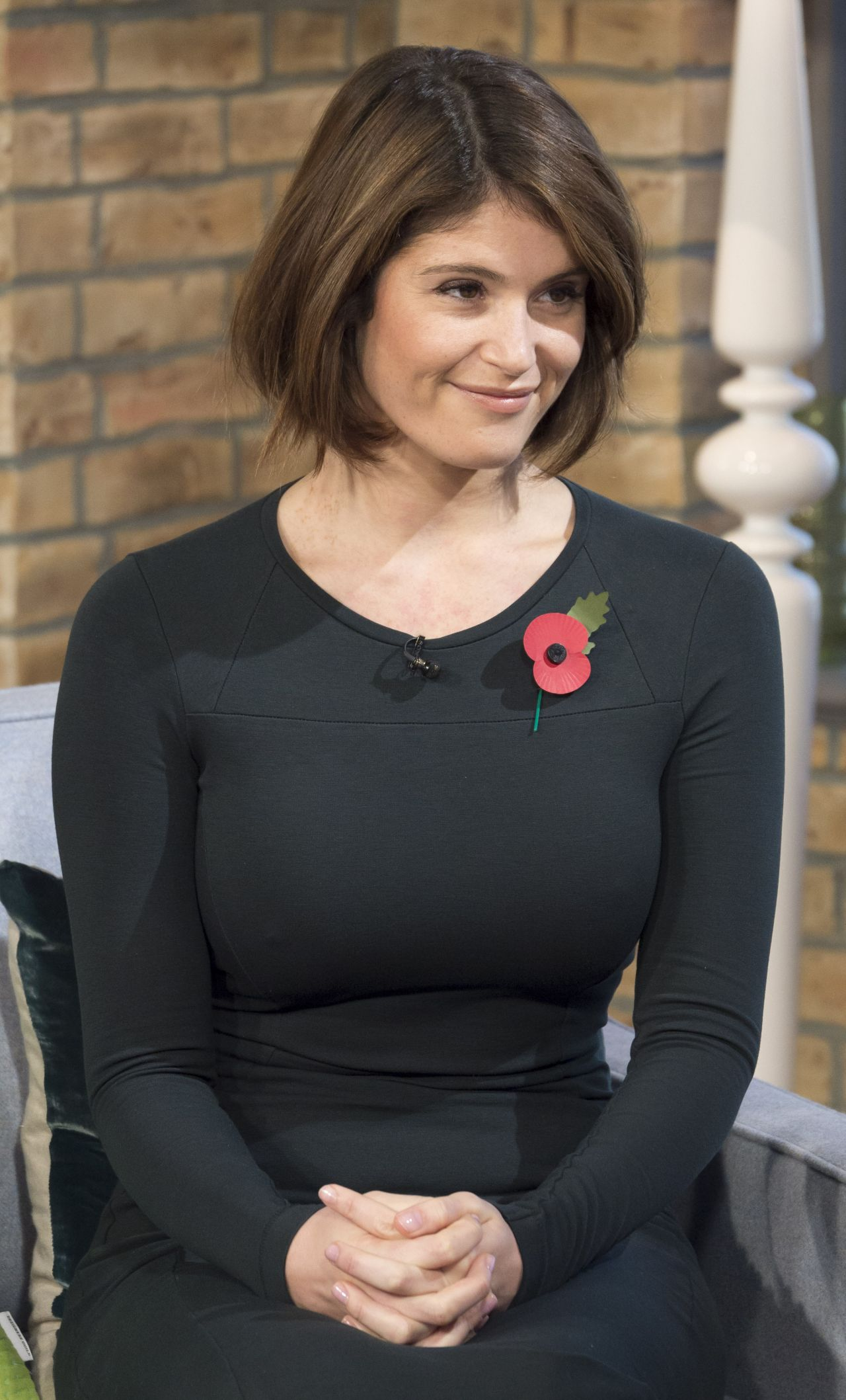 Gemma Arterton At Itvs This Morning In London-1284
