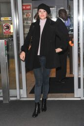 Gemma Arterton - Visits BBC Radio 2 in London - October 2014