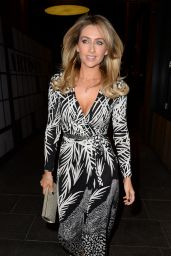 Gemma Merna - At Her Leaving Party in Manchester - October 2014