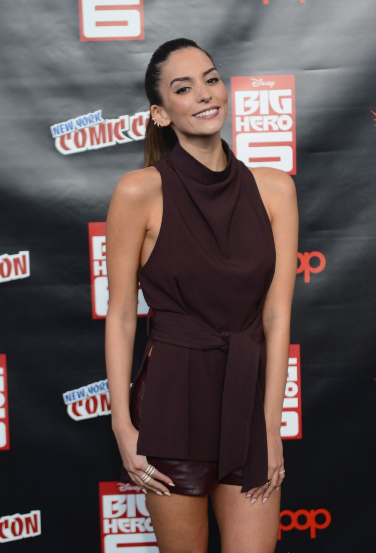 Genesis Rodriguez - 2014 New York Comic Con in New York City