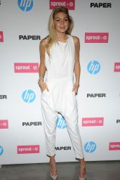 Gigi Hadid - Paper Magazine New Technology Launch in New York City, Oct. 2014