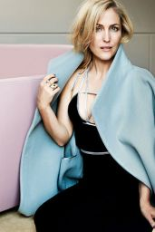 Gillian Anderson - Red Magazine November 2014 Issue