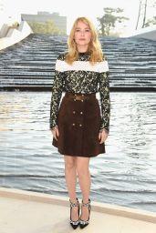 Haley Bennett - Paris Fashion Week - Louis Vuitton Show, October 2014