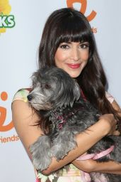 Hannah Simone - Muddy Puppies Video Premiere Party in West Hollywood, Oct. 2014
