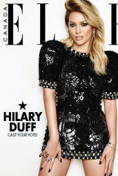 Hilary Duff - Elle Magazine (Canada) - December 2014 Cover