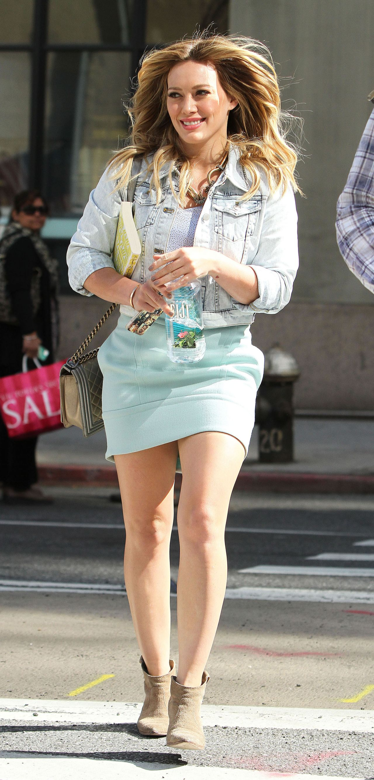 Skirt mini hilary duff