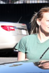 Hilary Duff Street Style - Leaving La Conversation in West Hollywood - October 2014