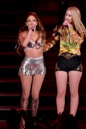 Iggy Azalea & Jennifer Lopez Performs at We Can Survive 2014 in Los Angeles