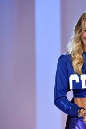 Ilary Blasi in Blue Photos - October 2014