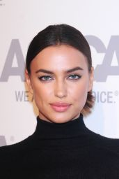 Irina Shayk Booty in Leather Skirt - ASPCA Young Friends Benefit in New York City