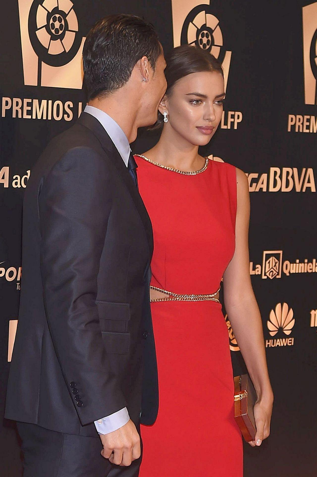 Irina Shayk & Her Boyfriend Cristiano Ronaldo - 2014 Liga ... Irina Shayk Cristiano Ronaldo 2014