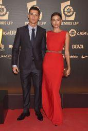 Irina Shayk & Her Boyfriend Cristiano Ronaldo - 2014 Liga de Futbol Profesional Awards in Madrid