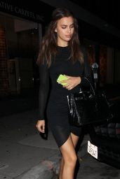 Irina Shayk Night Out Style - Leaving Koi Restaurant in West Hollywood - October 2014