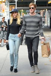 Jaime King in Jeans - Out in New York City, October 2014