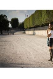 Jamie Chung - Photoshoot in Paris, October 2014
