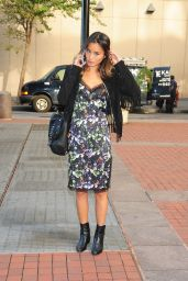 Jamie Chung Style - Out in New York City - October 2014