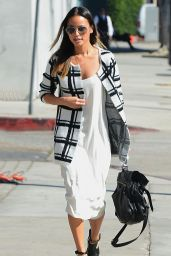 Jamie Chung Style - With a Friend in Los Angeles, October 2014
