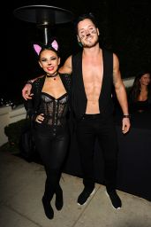 Janel Parrish Arrives at the Casamigos 2014 Halloween Party