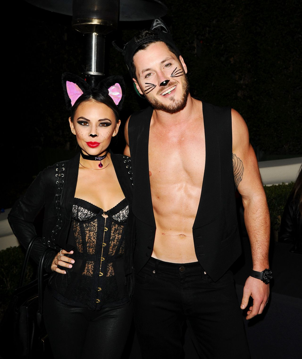 Parrish Arrives at the Casamigos 2014 Halloween Party