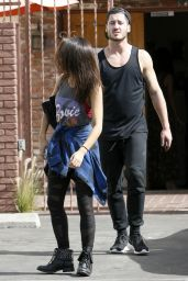 Janel Parrish - DWTS Rehearsal Studio in Hollywood - October 2014