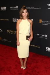 Jenna Coleman - 2014 BAFTA Los Angeles Jaguar Britannia Awards in Beverly Hills