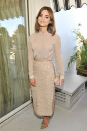 Jenna Coleman at Vanity Fair And Burberry Celebrate 2014 BAFTA Los Angeles and the Britannia Awards