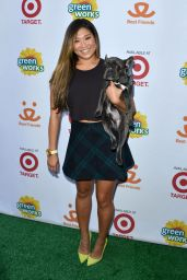 Jenna Ushkowitz - Muddy Puppies Video Premiere Party in West Hollywood, Oct. 2014