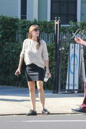Jennifer Garner Street Style - Shopping in Los Angeles, Oct. 2014