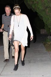 Jennifer Lawrence Leggy - Out in Los Angeles - October 2014
