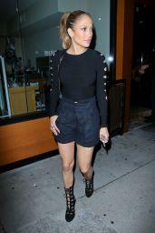 Jennifer Lopez at Crustacean in Beverly Hills - October 2014