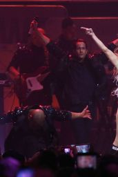 Jennifer Lopez Performs on