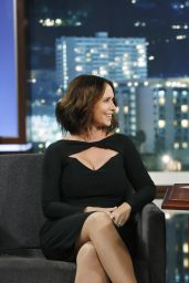 Jennifer Love Hewitt Appeared on Jimmy Kimmel Live - Sept. 2014